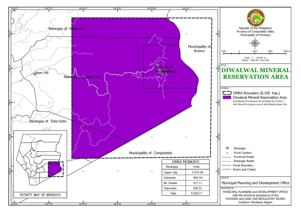 Monkayo Diwalwal Mineral Reservation Area